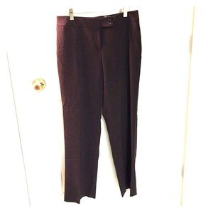 NWT Style & Co. 8 P Straight Leg Dress Pants